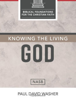 Knowing The Living God Cover