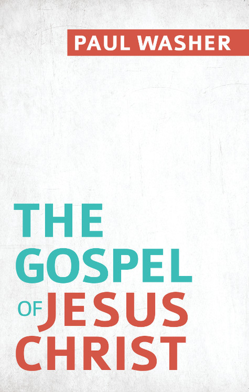 The Gospel Of Jesus Christ Washer