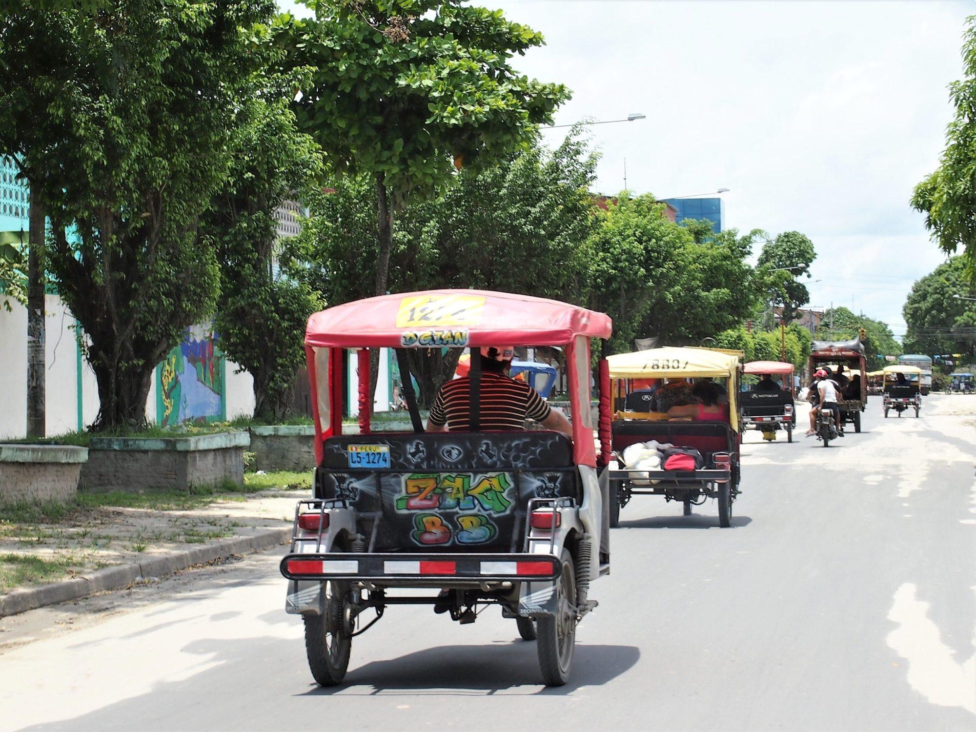 Iquitos Mototaxis